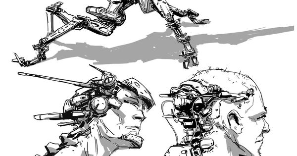Blog Joe Peterson Design Mecha Robots Pinterest