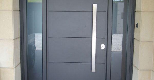Puerta aluminio exterior buscar con google puertas de for Puertas de aluminio para interiores de casas