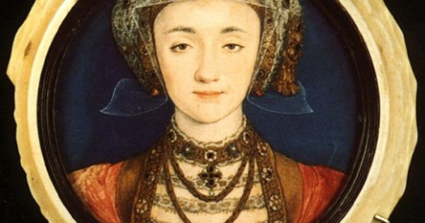 Anne of Cleves, by Hans Holbein. This picture was painted so that