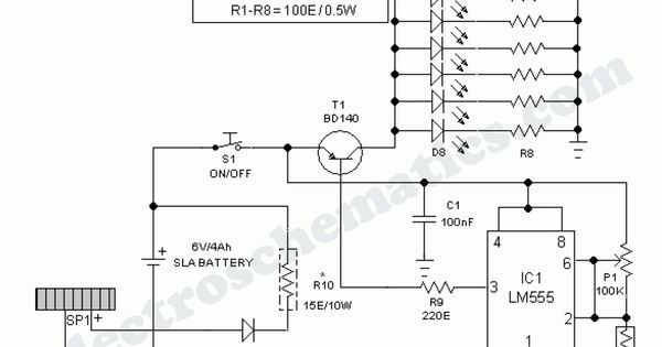 outdoor garden solar lights circuit schematic  all for