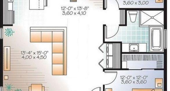 Plano de casa de 80 metros cuadrados ideas para el hogar for Piso 80 metros cuadrados