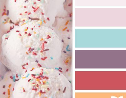 Pastel - Gourmandises et palettes de couleurs pastel  Palettes pastel ...