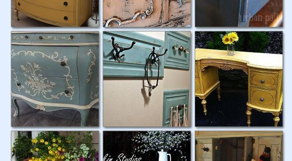 18 Incredible Vintage Furniture Makeovers Upcycling