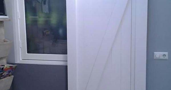 Loftdeur vurenhout loftdeur pinterest deuren lofts en huisdecoratie - Shabby chique kamer ...