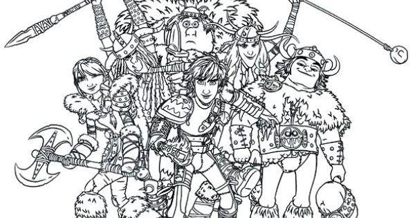 ausmalbild drachenzähmen leicht gemacht 2 - dragon riders