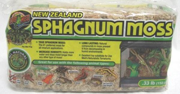 Amazon Com Zoo Med Laboratories Szmcf25 New Zealand Sphagnum Moss 33 Pound Pet Supplies Zoo Med New Zealand Moss