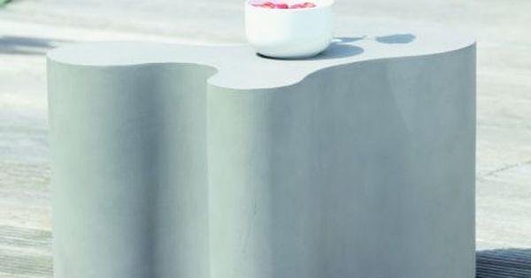 Jan Kurtz Beton Beistelltisch Blob kaufen im borono Online