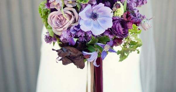 Purple Handmade California Wedding shot by Ally Michelle Photography