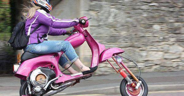 funny pink scooter chopper blog. Black Bedroom Furniture Sets. Home Design Ideas