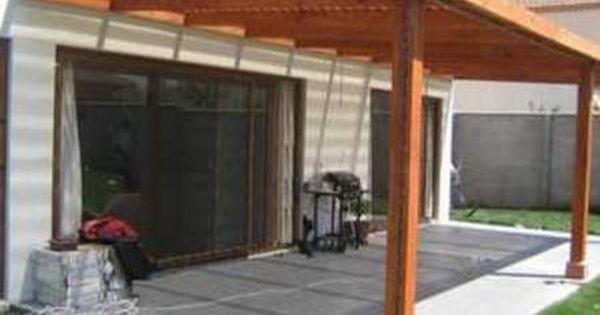 Cobertizos terrazas en madera santiago accesorios for Decoracion hogar santiago