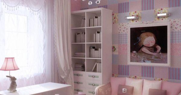 Iluminacion dormitorios ni as decoraci n habitaciones - Habitaciones juveniles ninas ...