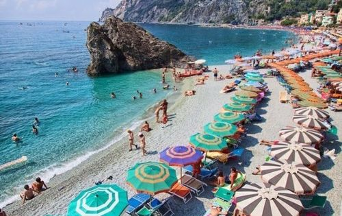 Montorosso Beach, Cinque Terre, Italy - recommend a two night stay to
