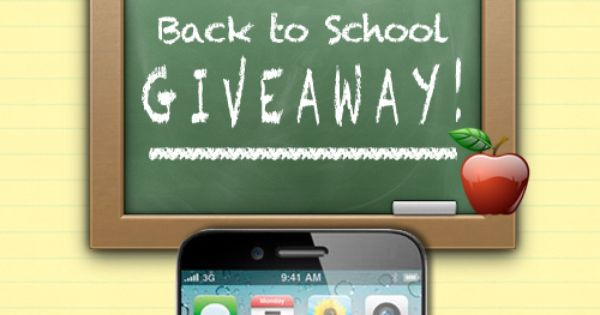 Back To School iPhone 5 Giveaway! (3 iPhones, 3 Ways to Enter)