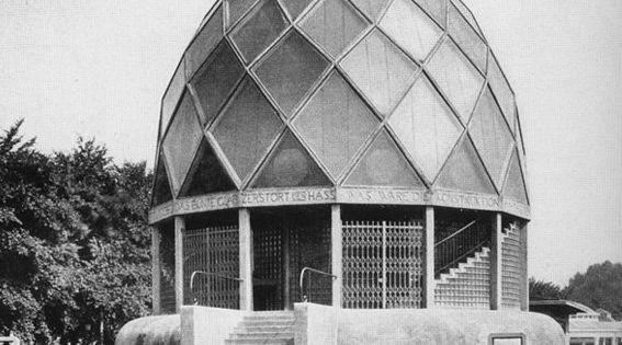 pavilh o de cristal para a exposi o de col nia de 1914 de bruno taut taut glass pavilion. Black Bedroom Furniture Sets. Home Design Ideas