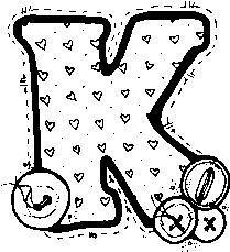 Alfabeto Con Botones Para Colorear Letras Do Alfabeto Alfabeto Alfabeto Desenhado