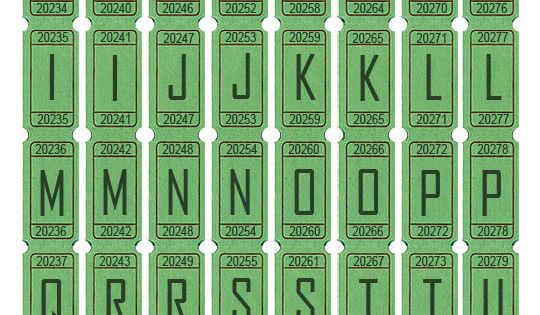 alphabet letters to print green ticket letters from gomakesomething free 1073