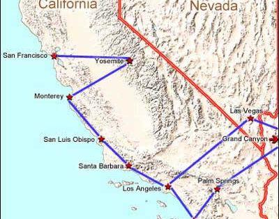 grand canyon maps road trip ideas
