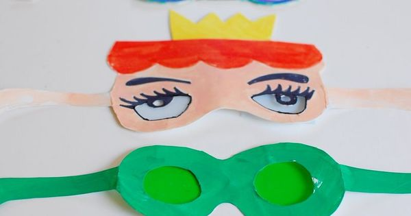 make fun glasses for kids - from bloesem via oneprettything