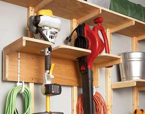 Garage Storage Solutions One Weekend Wall Of Storage Garage Storage Solutions Garage Tool Organization Garage Storage Organization