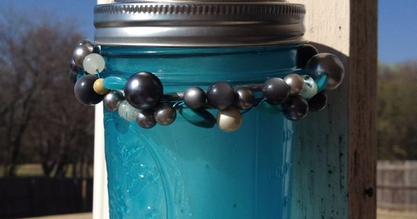 DIY Solar lights with a Mason Jar - very clever way to