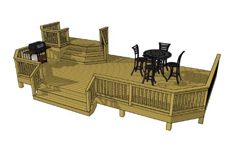 This Is The Deck I Need Deck Plans Diy Deck Design Free Deck Plans