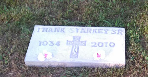 Finished Grave Marker Diy Craft Ideas Pinterest See