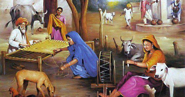 old punjabi village sikh punjabi peoples and their