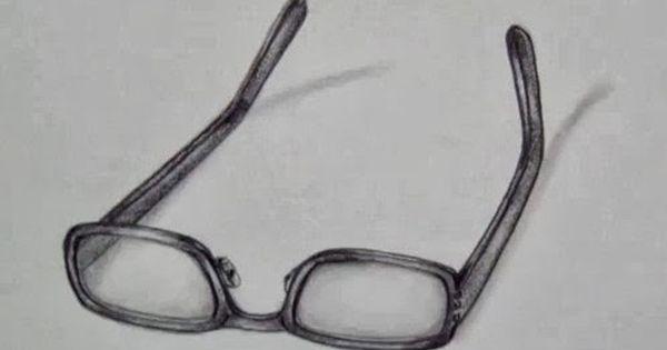 تعلم الرسم نظارة ثلاثية الابعاد بالخطوات Glasses Blog Art