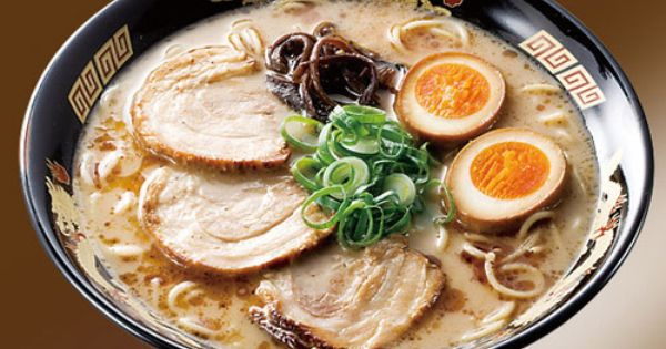 Ramen. I miss you. So much.... Tonkotsu Ramen   Japanese ...