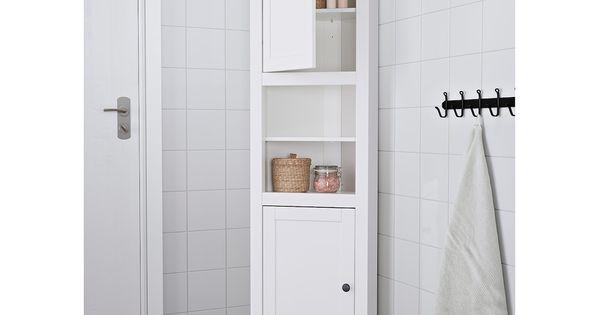 Hemnes Corner Cabinet White 20 1 2x14 5 8x78 3 8 Ikea In 2021 Bathroom Tall Cabinet Bathroom Corner Cabinet Corner Cabinet