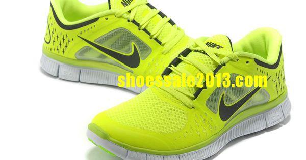 Nike Running Shoes Neon Green
