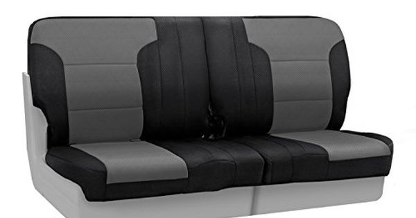 Coverking Rear Custom Fit Seat Cover For Select Toyota T100 Models Spacermesh Gray Amazon Be Custom Fit Seat Covers Back Seat Covers Custom Seat Covers