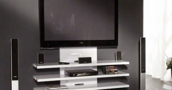 comment cacher les fils de la tv accroch e au mur. Black Bedroom Furniture Sets. Home Design Ideas