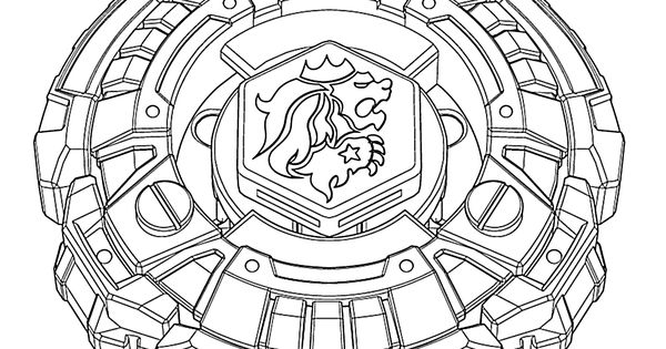 Beyblade anime coloring pages for