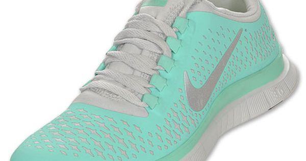 Mint green Nikes