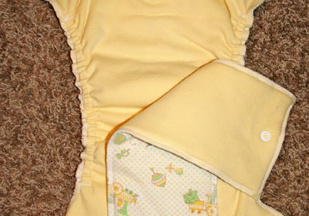 DIY cloth nappy