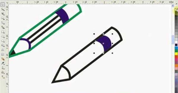 Drawing Lines In Coreldraw : Corel draw tutorial for beginners http software