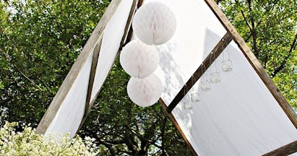 Build your own garden tent and what if you add a for Build your own canvas tent