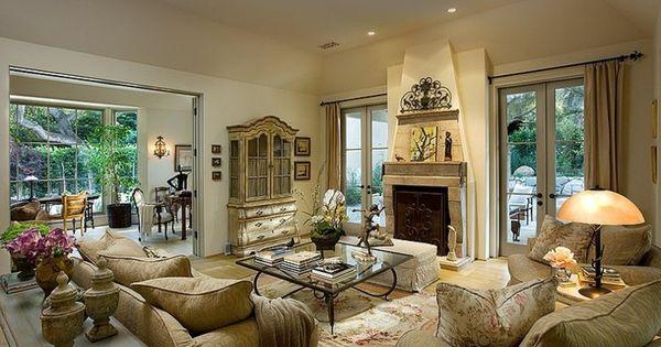 Belle maison rustique montecito californie deco maison de charme decoration design et - Maison rustique luxe montecito grant ...