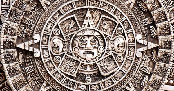 mayan art : calendar