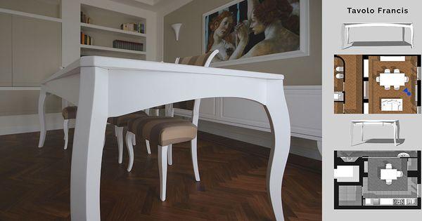 Tavolo sartoria ~ Un tavolo sia classico che moderno e contemporaneo con linee