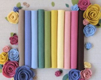 Benzie Designs Felt Flowers Diy