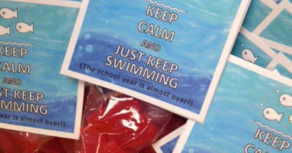 swimming     school year     printable tags  treat