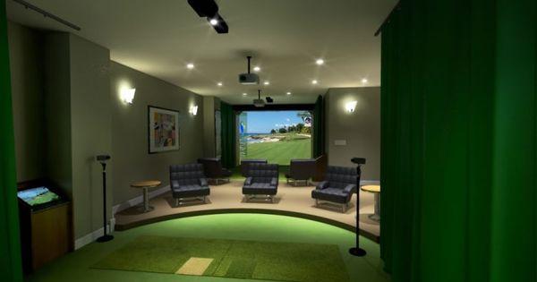 Optishot Golf Simulator Review Golf Simulator Room