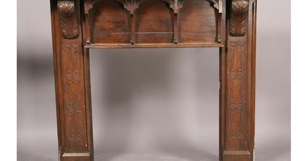 Tudor style oak fireplace mantel fireplace pinterest for Tudor style fireplace
