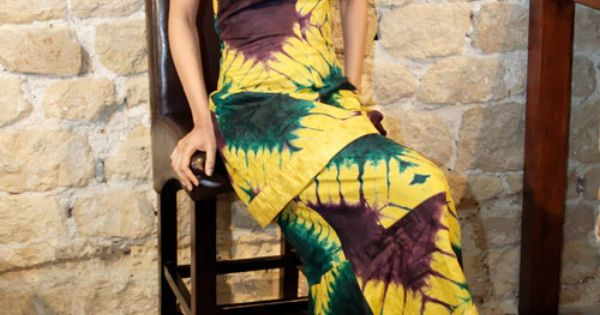 Adire Tie Dye Dress African Clothes Pinterest Tie
