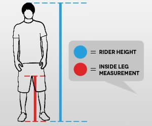 Bike Size Chart How To Choose Right Bicycle 7 Methods Bmx