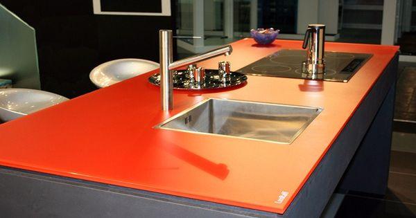 encimeras de cristal para la cocina diseo de cocinas madrid encimeras de cocina pinterest madrid