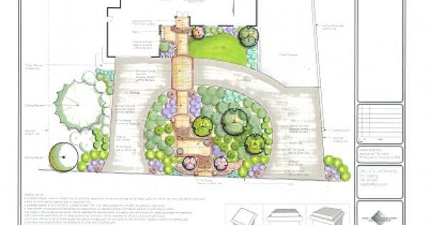 Half Circle Driveway Walkway And Garden House