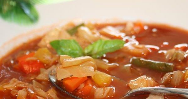 Ww 0 Point Weight Watchers Cabbage Soup food weightwatchers soup cabbage